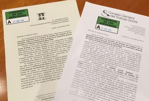El CGTS exige al PSOE que modifique su proposición no de ley relativa a la enfermera gestora de casos en la cartera de servicios del SNS para que incluya al trabajo social