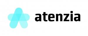 Atenzia Logo - Color - Horizontal - Tramas - Sin