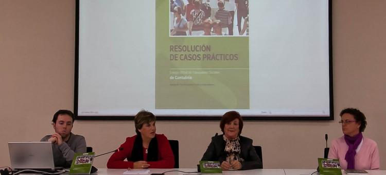 """LIBRO """"RESOLUCIÓN DE CASOS PRÁCTICOS"""" por Pilar Mosquera Conde (Publica el Colegio del Trabajo Social de Cantabria)"""
