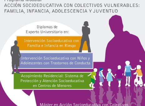 Acción Socioeducativa con Colectivos Vulnerables: Familia, infancia, adolescencia y juventud (plan 2015) del 31 de enero al 31 de octubre de 2017