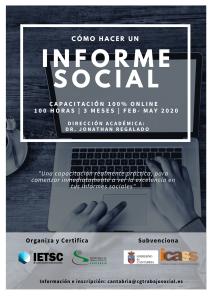 Cartel Informe Social Cantabria