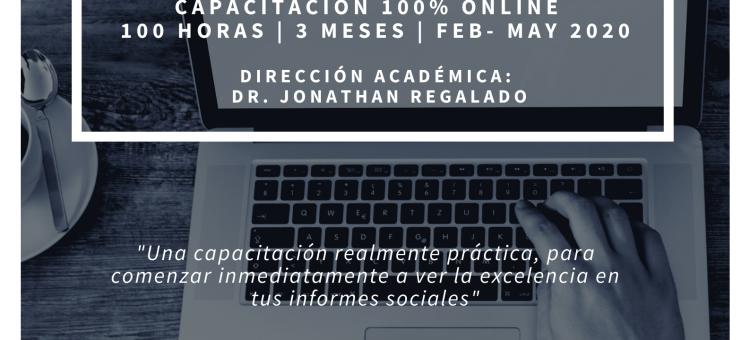 """Reedición del curso """"Como hacer un Informe Social"""" COTS de Cantabria"""